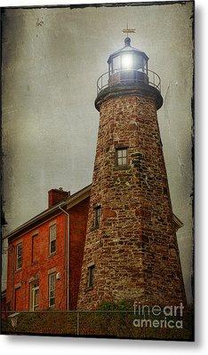 Charlotte Genesee Lighthouse Metal Print by Joel Witmeyer