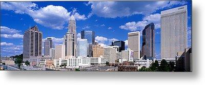 Charlotte, North Carolina, Usa Metal Print by Panoramic Images