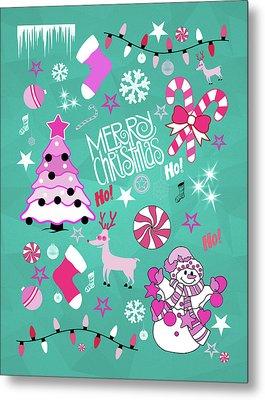 Christmas Metal Print by Mark Ashkenazi