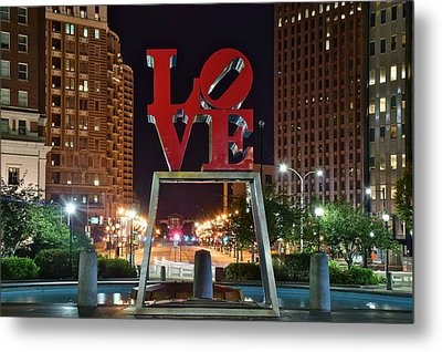 City Of Brotherly Love Metal Print by Frozen in Time Fine Art Photography