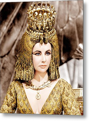 Cleopatra, Elizabeth Taylor, 1963 Metal Print by Everett