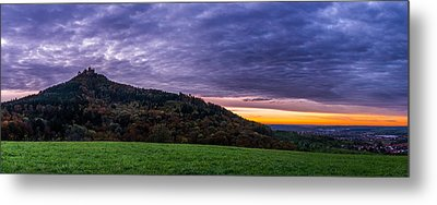Clouds Over The Hohenzollern Castle Metal Print by Dmytro Korol
