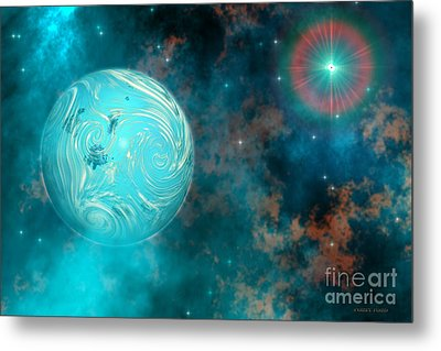 Coalescence Metal Print by Corey Ford