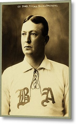 Cy Young Metal Print by Mountain Dreams