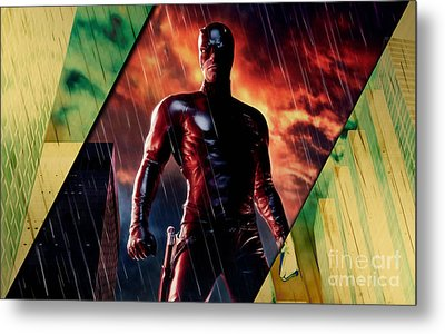 Daredevil Collection Metal Print by Marvin Blaine