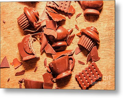 Death By Chocolate Metal Print by Jorgo Photography - Wall Art Gallery