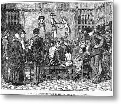 Elizabethan Theatre Metal Print by Granger