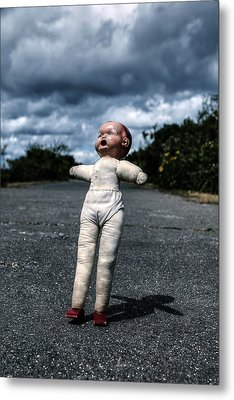 Falling Doll Metal Print by Joana Kruse