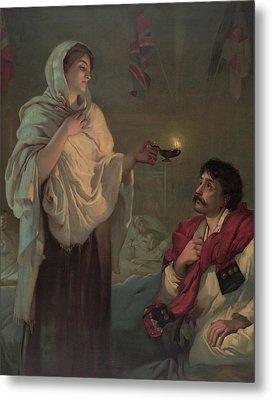 Florence Nightingale 1820-1910 Metal Print by Everett