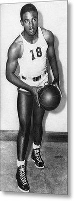 Future Brooklyn Dodger Jackie Robinson Metal Print by Everett