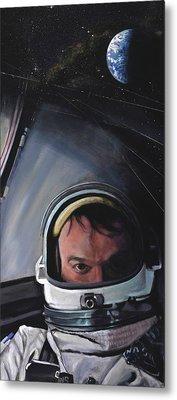Gemini X- Michael Collins Metal Print by Simon Kregar