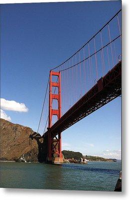 Golden Gate Bridge Metal Print by Eliot Jenkins