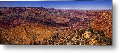 Grand Canyon Panorama Metal Print by Andrew Soundarajan