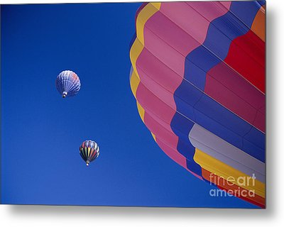 Hot Air Balloons Metal Print by Greg Vaughn - Printscapes