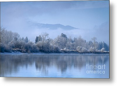 Icy Blue Metal Print by Idaho Scenic Images Linda Lantzy