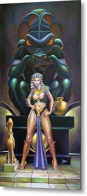 Isis And Osiris Metal Print by Patrick Anthony Pierson