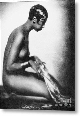 Josephine Baker (1906-1975) Metal Print by Granger
