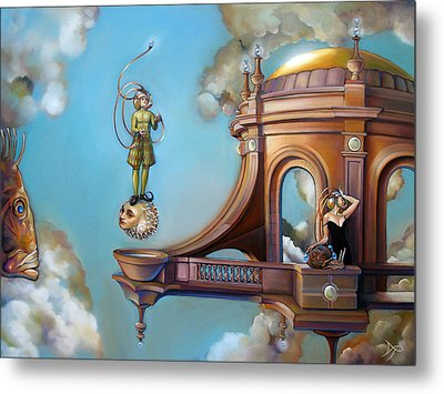 Jugglernautica Metal Print by Patrick Anthony Pierson