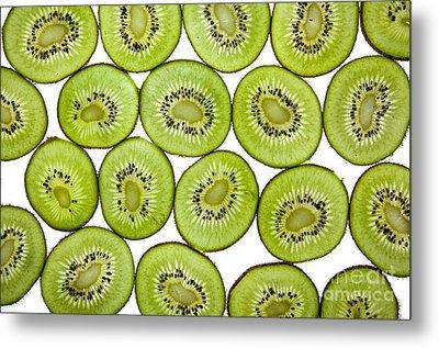 Kiwifruit Metal Print by Nailia Schwarz