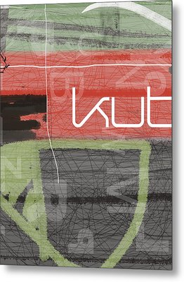 KUT Metal Print by Naxart Studio