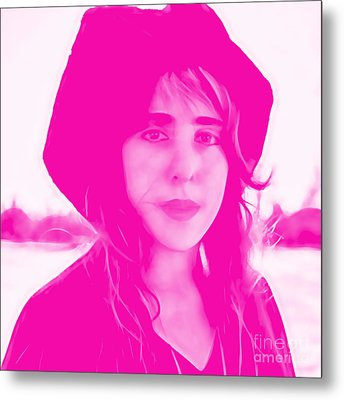 Laura Nyro Collection Metal Print by Marvin Blaine