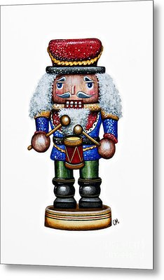 Little Drummer Boy Metal Print by Christina Meeusen