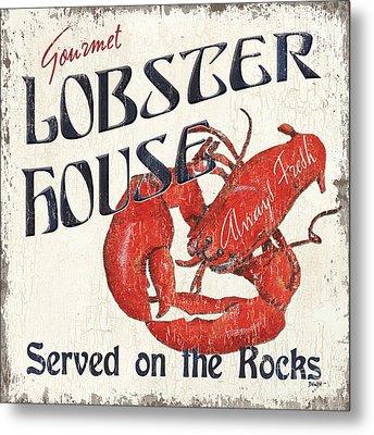 Lobster House Metal Print by Debbie DeWitt