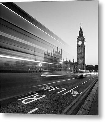 London Big Ben Metal Print by Nina Papiorek