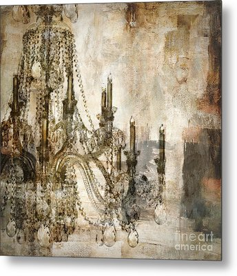 Lumieres Metal Print by Mindy Sommers