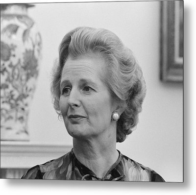 Margaret Thatcher Metal Print by War Is Hell Store