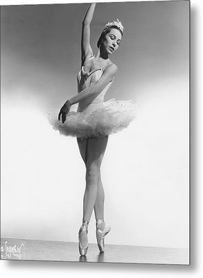 Maria Tallchief, Ballerina Metal Print by Everett
