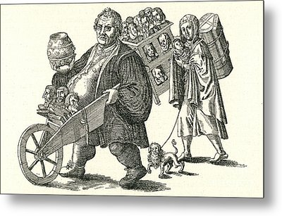 Martin Luther (1483-1546) Metal Print by Granger
