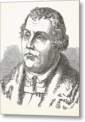 Martin Luther Metal Print by English School