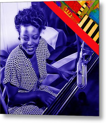 Mary Lou Williams Collection Metal Print by Marvin Blaine