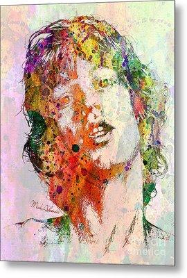 Mick Jagger Metal Print by Mark Ashkenazi