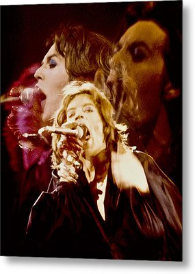 Mick Trio Metal Print by Sandy Ostroff