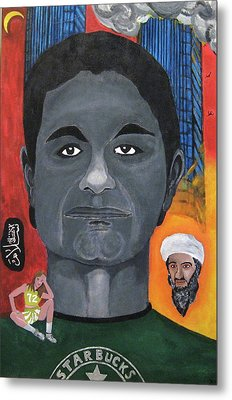 Mohamed Atta Metal Print by Darren Stein