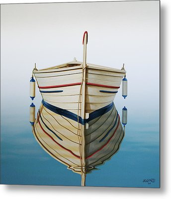 Morning Sun On Prow Metal Print by Horacio Cardozo