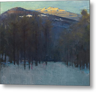 Mount Monadnock Metal Print by Abbott Handerson Thayer
