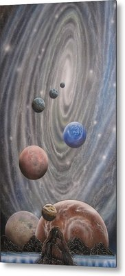 Multiverse 584 Metal Print by Sam Del Russi