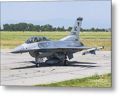 New Jersey Air National Guard F-16c Metal Print by Daniele Faccioli