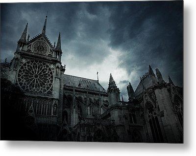 Notre Dame De Paris Metal Print by Cambion Art