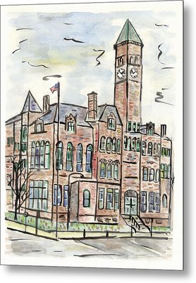 Old Courthouse Museum Metal Print by Matt Gaudian