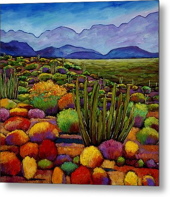Organ Pipe Metal Print by Johnathan Harris