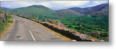 Panoramic View Of Healy Pass, Cork Metal Print by Panoramic Images
