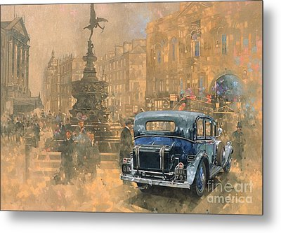 Phantom In Piccadilly  Metal Print by Peter Miller