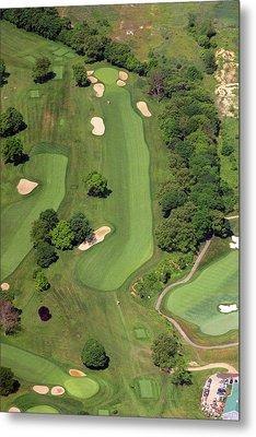 Philadelphia Cricket Club Wissahickon Golf Course 12th Hole Metal Print by Duncan Pearson