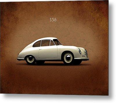 Porsche 356 Metal Print by Mark Rogan