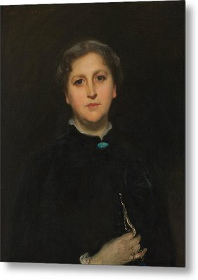 Portrait Of Mrs Raphael Pumpelly Metal Print by John Singer Sargent