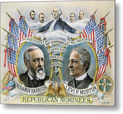 Presidential Campaign, 1888 Metal Print by Granger